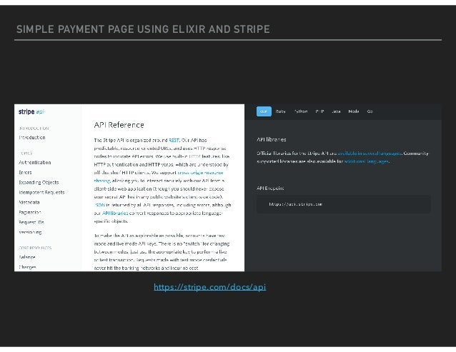Accepting payments using Stripe and Elixir