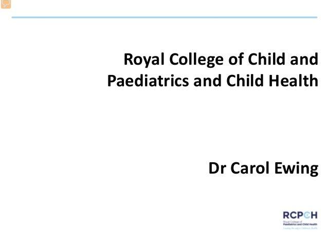 Elizabeth Stephenson and Carol Ewing: child health policy