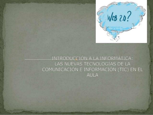  Conocer, aplicar y evaluar las tecnologías actuales de la comunicación e información en el desarrollo de programas forma...