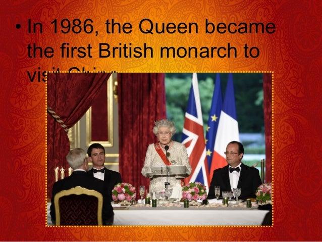 Queen Elizabeth II Is Britain's 40th Monarch Since William The Conqueror Was Crowned