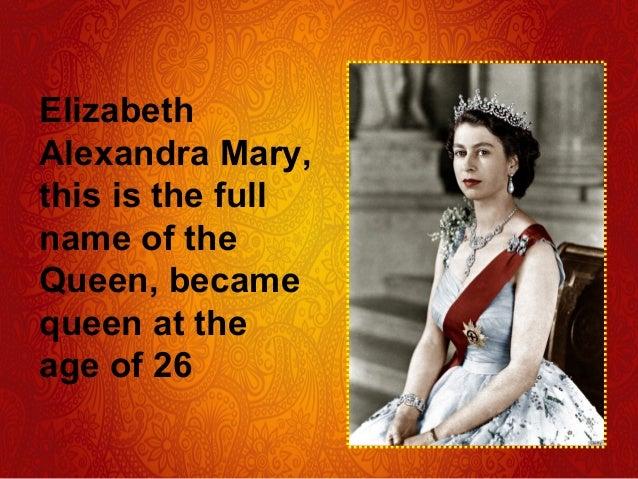 Full Name: Elizabeth 2