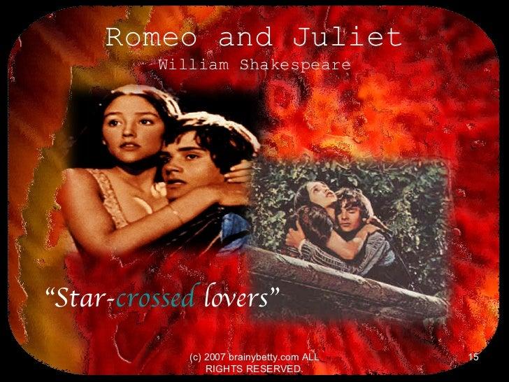Elizabethan Era/Shakespeare/Romeo + Juliet