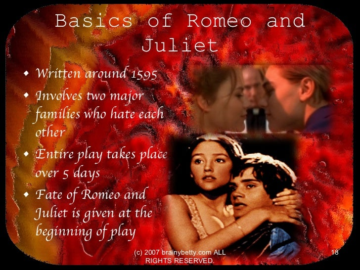 why did romeo and juliet fall in love
