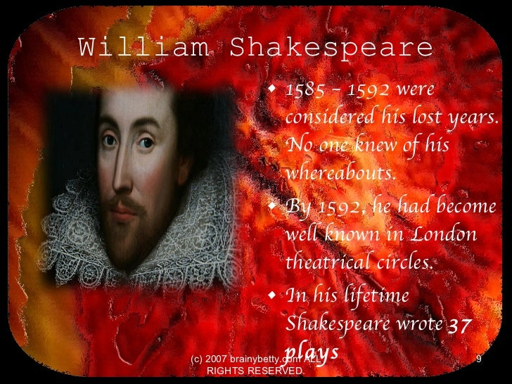 a discussion about william shakespeare and his theater