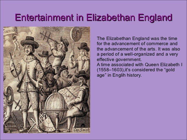 elizabethan technology amusement essays