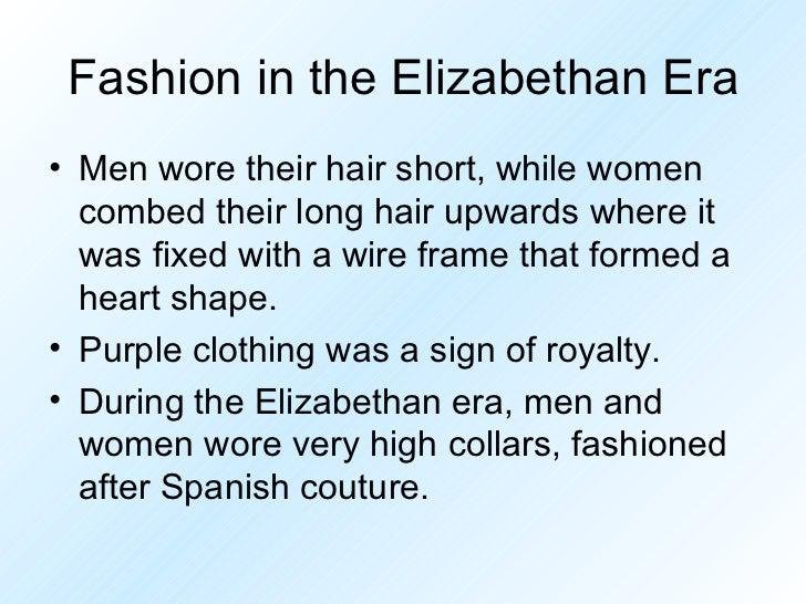 elizabethan era summary