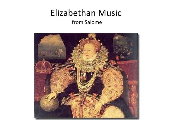 Elizabethan Music  from Salome