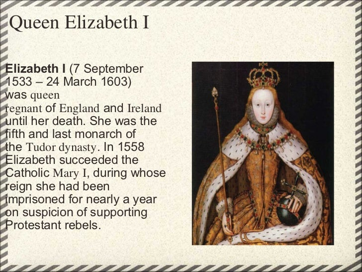 a history of the golden age era during the reign of queen elizabeth i The tudor period ended with the death of queen elizabeth i on 24th  the golden age of english history  during elizabeth's reign the age of exploration.