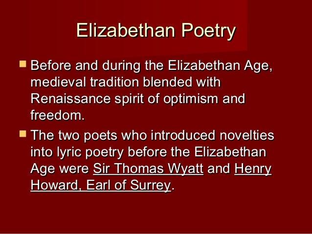 elizabethan period elizabethan poetryelizabethan poetry