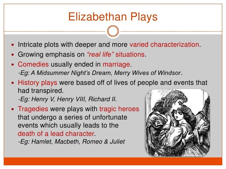 elizabethan drama definition