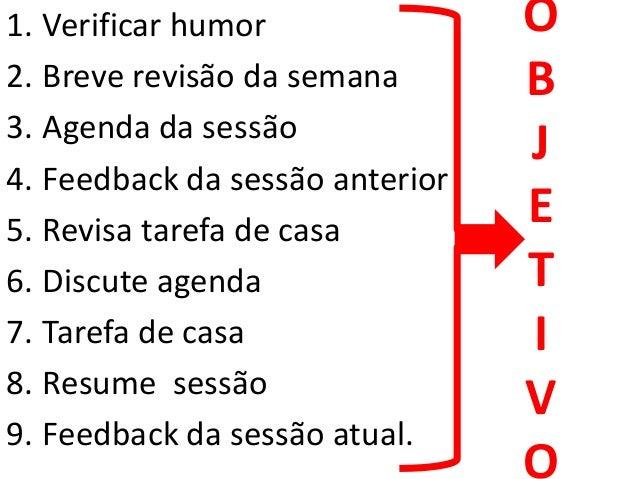 • Quais os pensamentos automáticos desse cliente? • Esses pensamentos automáticos são válidos, úteis? • Os pensamentos aut...