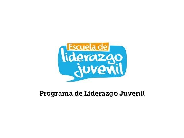 Programa de Liderazgo Juvenil