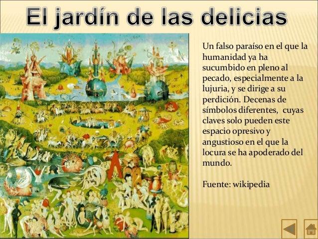 El jardin de las delicias for Bosco jardin de las delicias