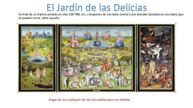 El jardin de las delicias ra for El jardin de las delicias significado