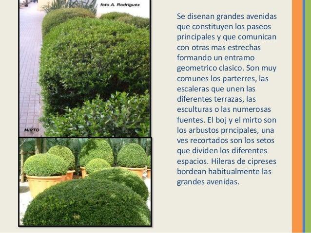 El jardin del renacentista italiano for Jardines italianos
