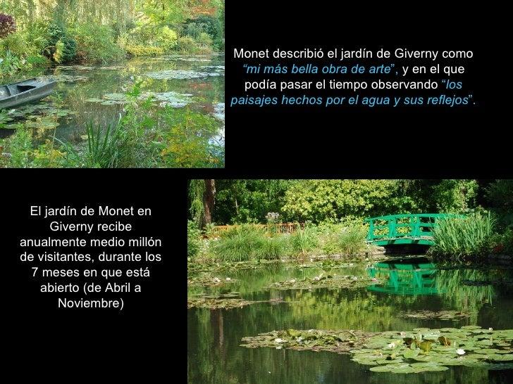 El jard n de giverny for El jardin de l abadessa