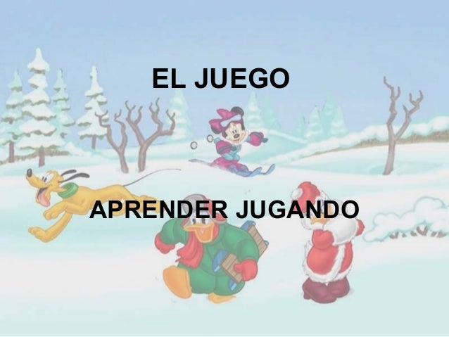 EL JUEGOAPRENDER JUGANDO