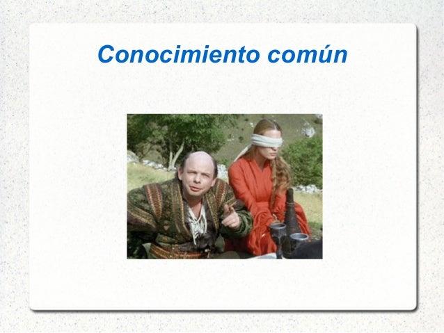 Conocimiento común