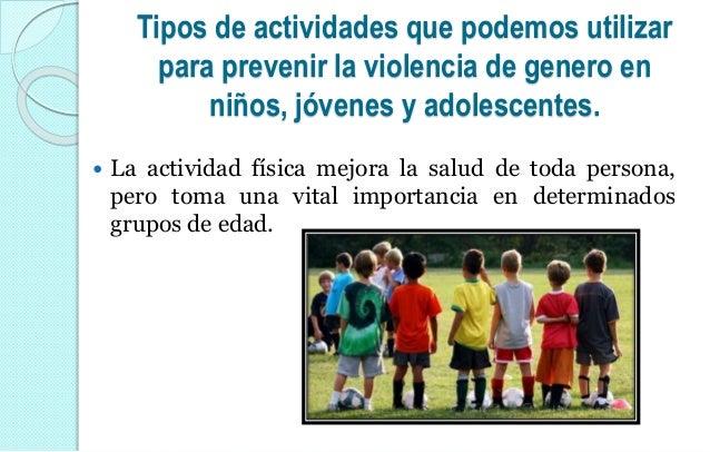 actividades para hombres y mujeres jovenes