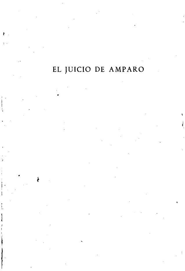 I . , . I I ,, l·, I • EL JUICIO DE AMPARO •