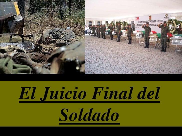 El Juicio Final del Soldado<br />