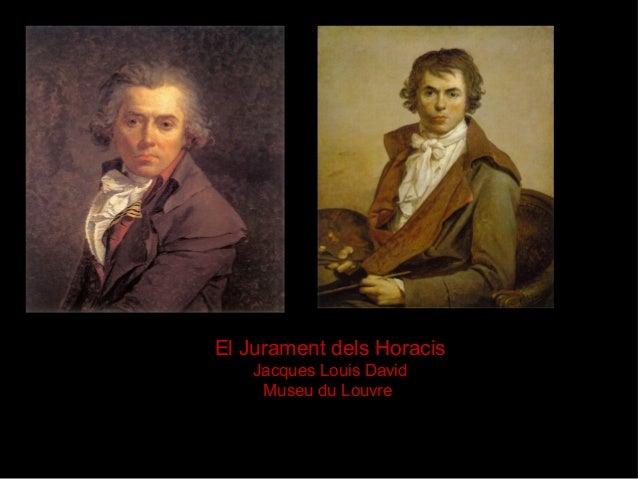 El Jurament dels Horacis Jacques Louis David Museu du Louvre