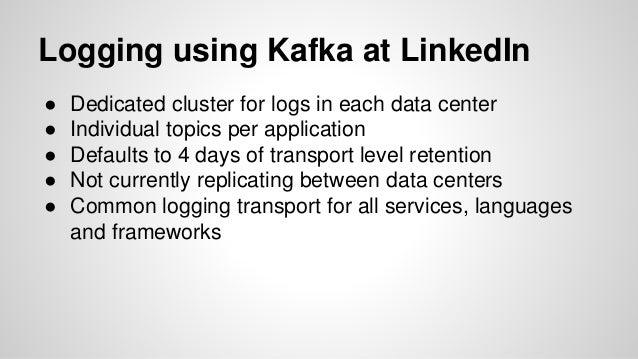 ELK at LinkedIn - Kafka, scaling, lessons learned