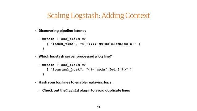 ELK: Moose-ively scaling your log system