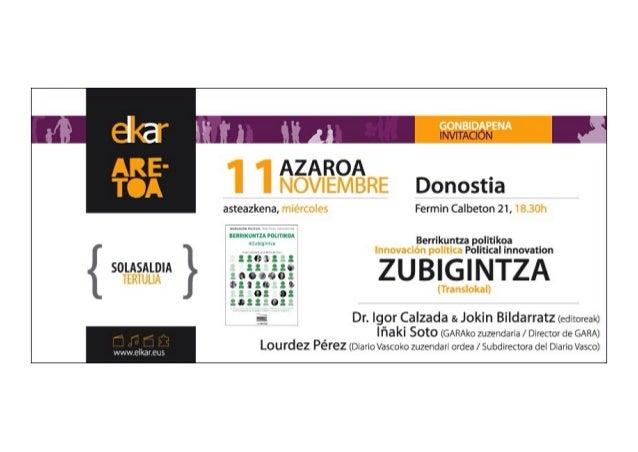 """GONBIDAPENA            AZAROA NOVIEMBRE Donostia         1  asteazkena,  miércoles Fermin Calbeton 21, 18.30h """"""""""""'. :'I(, ..."""