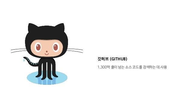 깃허브 (GITHUB) 1,300억 줄이 넘는 소스 코드를 검색하는 데 사용