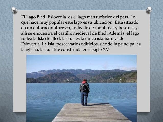 El lago bled, Luis Velasquez Slide 2