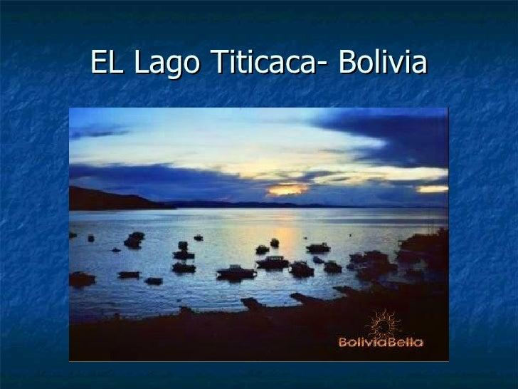 EL Lago Titicaca- Bolivia