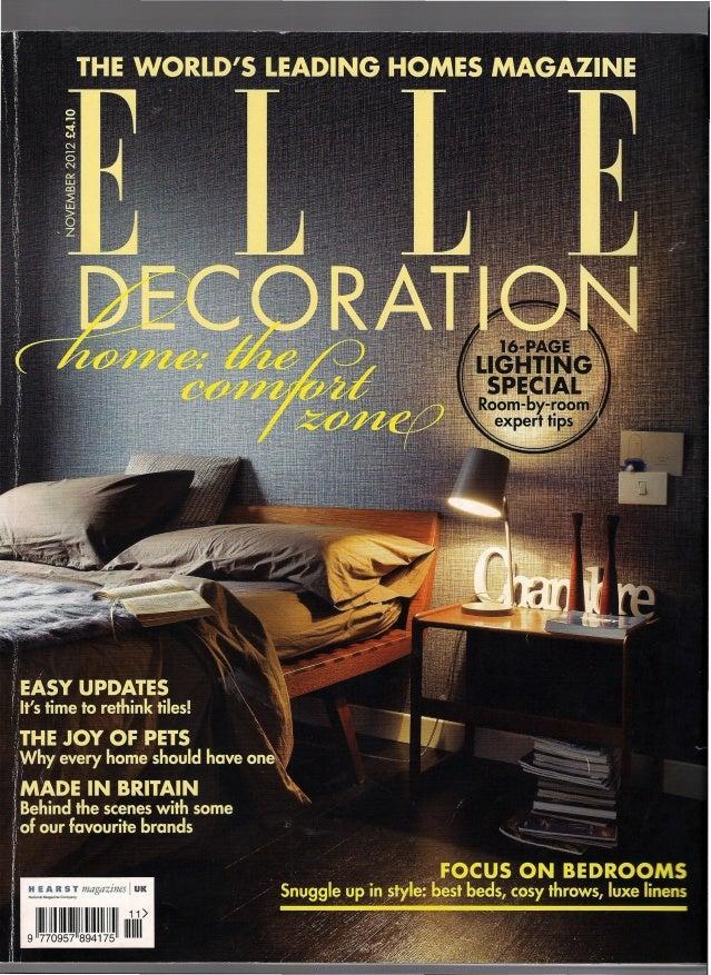 106     ECORATION -OVEMBER 2012     Style                                            Livìng                               ...