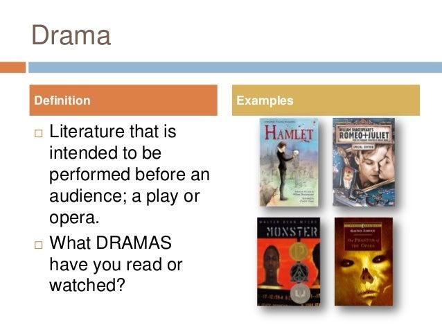 drama in literature definition