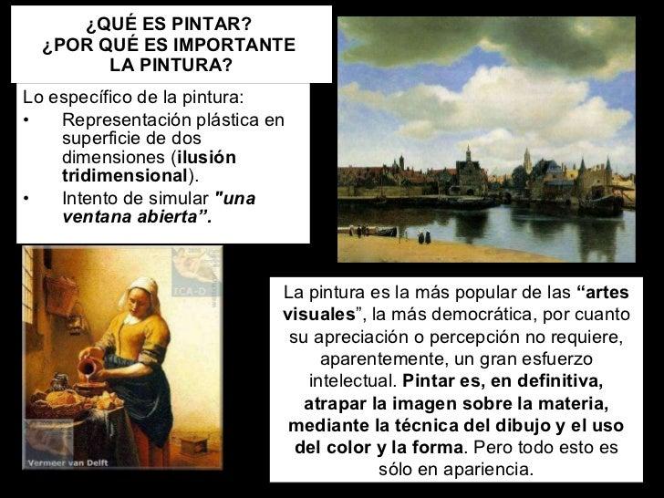 El lenguaje artístico la pintura 2010 11 Slide 2