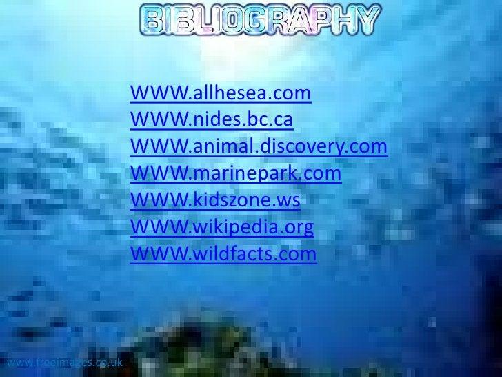WWW.allhesea.com                       WWW.nides.bc.ca                       WWW.animal.discovery.com                     ...