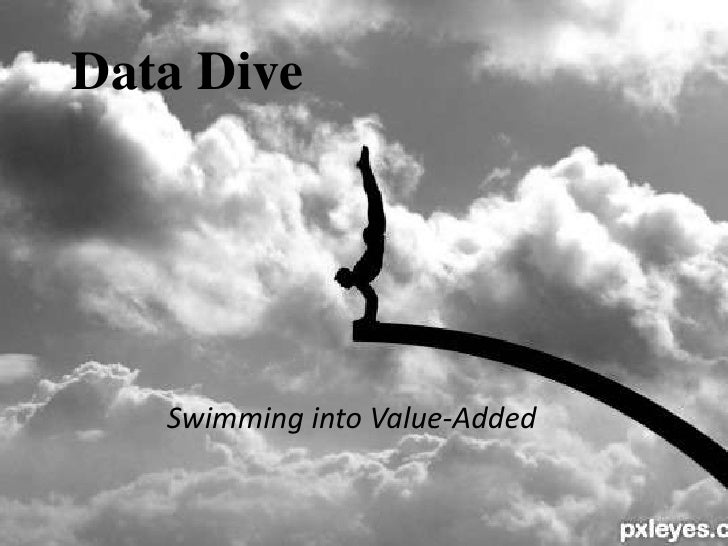 Data Dive<br />Swimming into Value-Added<br />