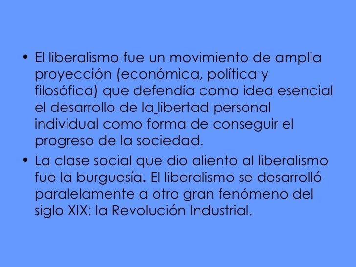 El Liberalismo PolíTico Slide 3