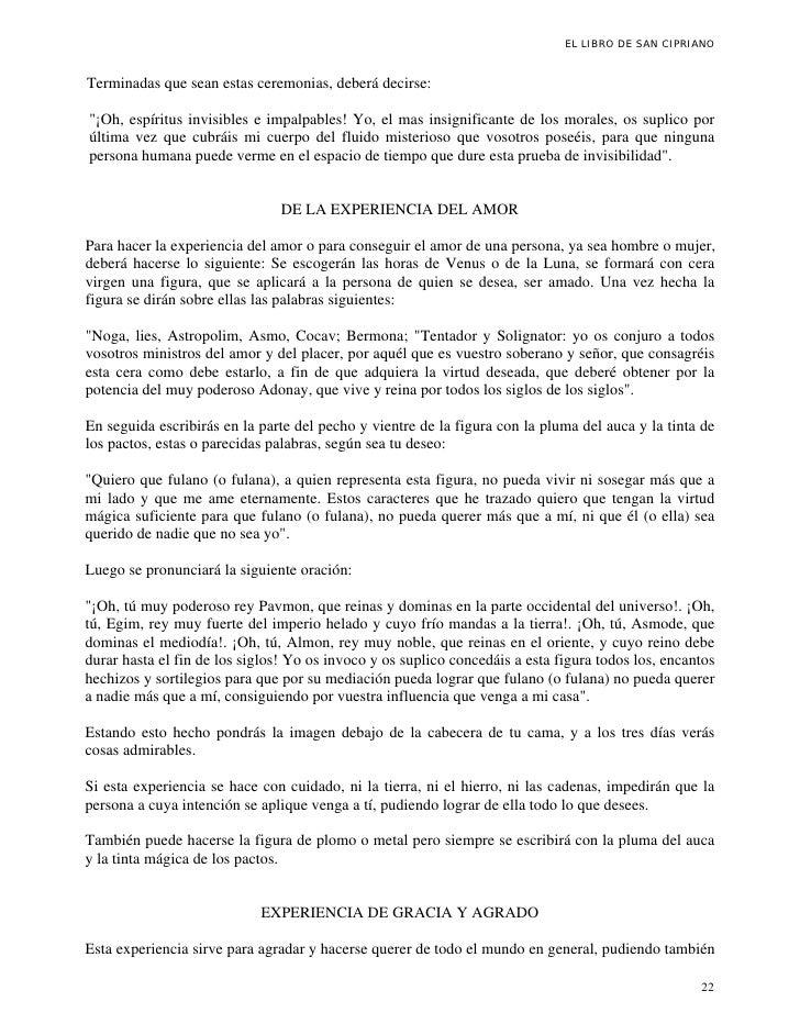 Oracion A San Cipriano Change Comin
