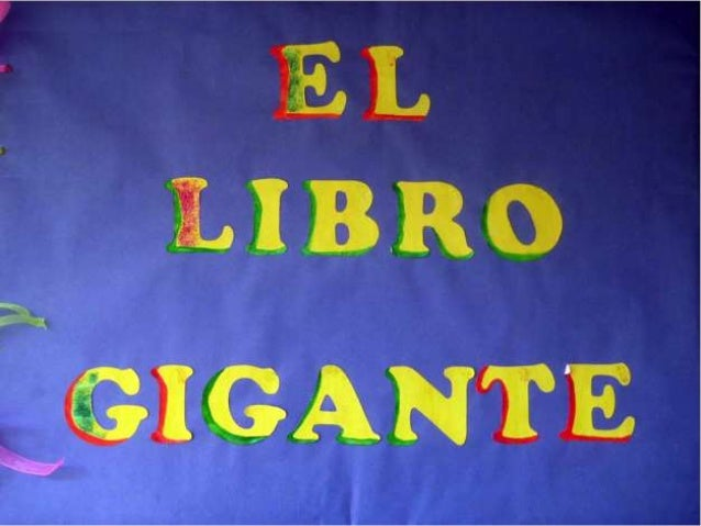 EL LIBRO GIGANTE