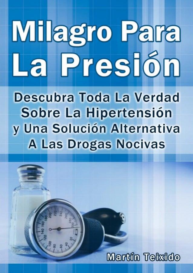 Milagro Para La Presión www.MilagroParaLaPresion.com | 1