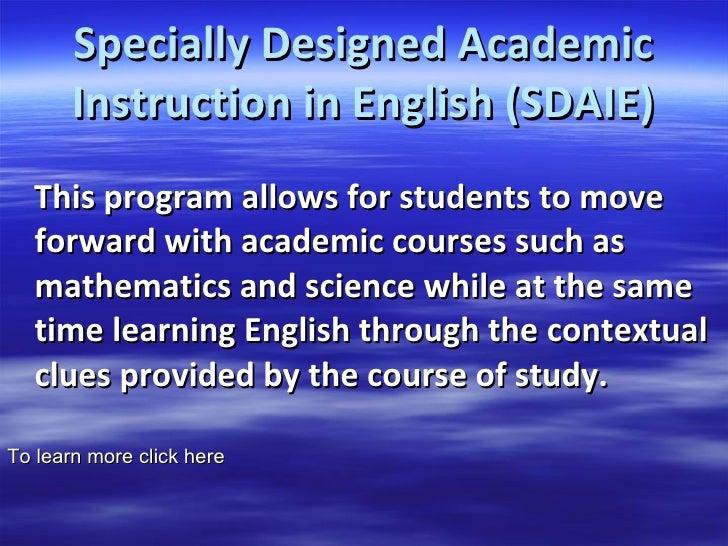 Ell Instructional Programs Needed For Ell Teachers