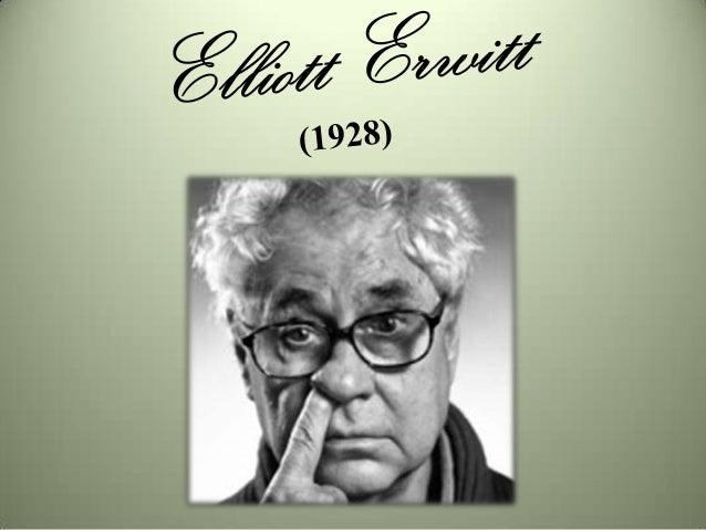 • Elliott Erwitt é publicitário e fotógrafo.• Filho de emigrantes russos, Elliott Erwitt  estabeleceu-se nos EUA, desde 19...