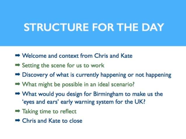 Elliott Review Birmingham: Workshop on 2nd April 2014 Slide 3