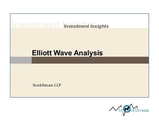 Investment Insights Investment Insights  Elliott Wave Analysis  StockStream LLP