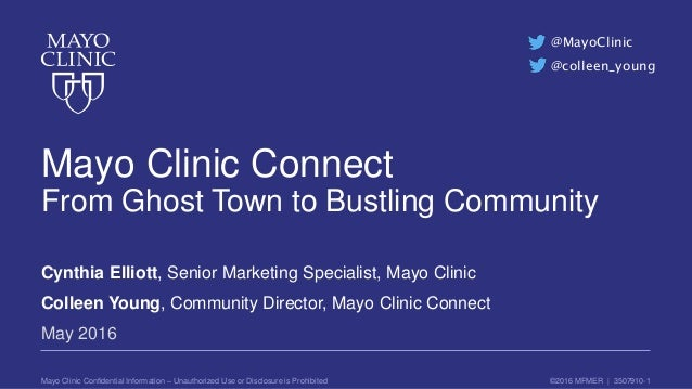 Mayo Clinic Connect - From Ghost Town to Bustling Community