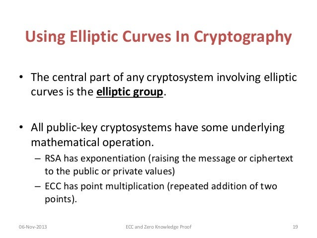 an introduction to elliptic curve cryptography ecc Mentation in c on a pentium ii 400 mhz workstation 1 introduction elliptic curve  cryptography (ecc) was proposed independently in 1985 by neal koblitz [19].