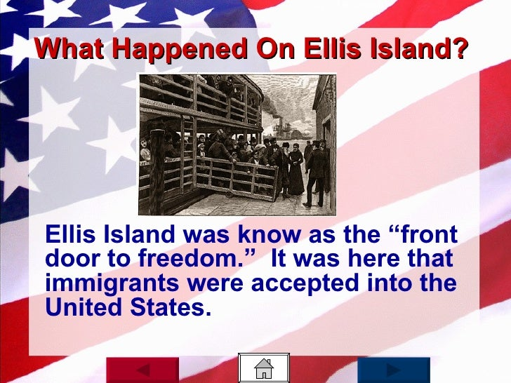 Ellis Island Conditions To Be Accepted