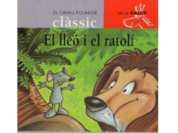 Resultado de imagen de el lleo i el ratoli