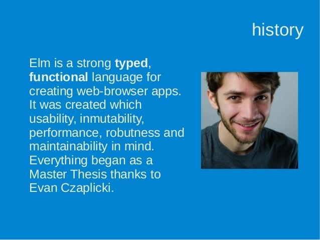 evan czaplicki thesis